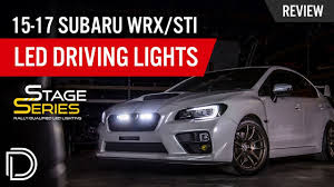 2015 Sti Rally Lights 2015 2017 Subaru Wrx Sti Led Driving Lights By Diode Dynamics