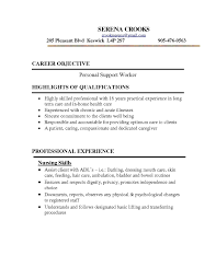 Resume Genorator Personal Support Worker Cover Letter New Resume Generator