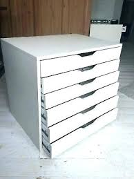 ikea desk storage unit storage unit already built makes great under desk white chest of drawers