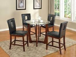 full size of 45 round wood dining table 5 walnut finish glass top kitchen pretty acme