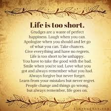Lifes Too Short Quotes Amazing Life Is Too Short MoveMe Quotes