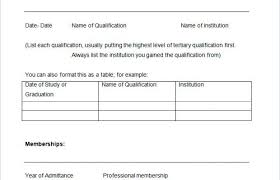 Resume Blank Form Download Empty Resume Template 45 Blank Templates Free Samples