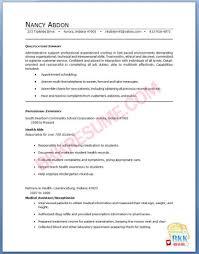 Resume For Medical Receptionist 20 Secretary Sample Cover Letter