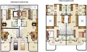 compact house plans india awesome modern row house plans bibserver