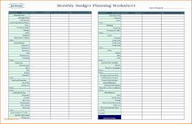 Easy Monthly Budget Printable Monthly Budget Planner Template Easy Spreadsheet Bud Bill