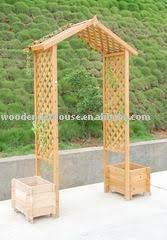 Small Picture PVC and lattice garden arbor For those who dont have technical