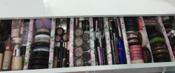 Diy Kitchen Drawer Dividers Organizer Chic Makeup Drawer Organizer To Organize Your Makeup