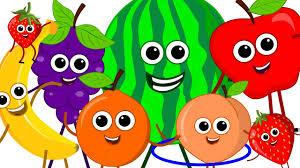 the fruits song learn fruits nursery rhymes original song kids songs kids tv you
