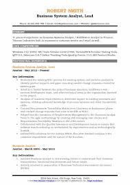 Business Systems Analyst Resume Template Gorgeous Business System Analyst Resume Samples QwikResume
