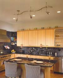 track lighting for kitchens. Kitchen. Modern Kitchen Decoration With Ceiling Track Lighting Setup Ideas And For Kitchens