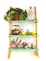 what style should we call our rope shelf beachy and carefree