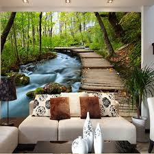 Modern Wall Murals Compare Prices On Landscapes Wallpaper Online Shopping Buy Low