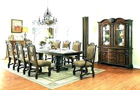 dining room table for 8 dining room table 8 chairs for glass set square remodel round