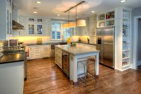 Kitchen Hardwood Floor Impressive Kitchen Cabinet Storage Grny Renovation