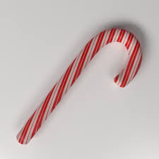 Candy Cane 3d Cgtrader
