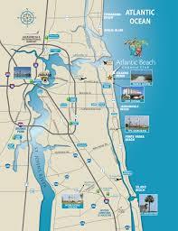 north florida map  atlantic beach country club  jacksonville