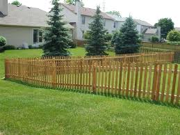 building picket fences building a picket fence on uneven ground round designs diy picket fences building picket fences