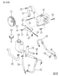 1996 jeep grand cherokee pump mounting power steering diagram 00000drf