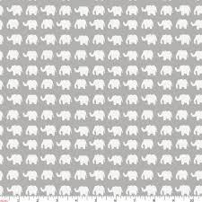 Elephant Pattern Amazing Gray And White Elephant Parade Fabric By The Yard Gray Fabric