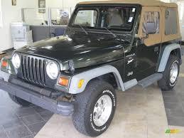 1997 Moss Green Pearl Jeep Wrangler Sport 4x4 15872738 Gtcarlot