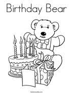 You can press download button or print it right from your browser. Birthday Coloring Pages Twisty Noodle