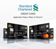 Standard Charted Online Credit Card Payment Standard Chartered Credit Card Status Check How To Track