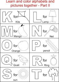 Drawing Alphabet Coloring Sheets For Toddlers Online Coloring