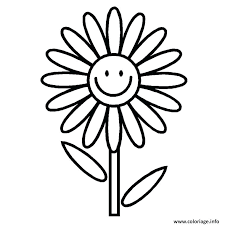 Coloriages De Fleurs Dhibiscus Coloring Pages For Kids Animals Easy