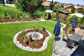 Gartengestaltung Ideen Gepolsterte On Moderne Deko Plus Gartens Max 13