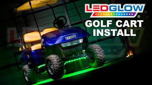 Golf Cart Underbody Lights Ledglow How To Install Golf Cart Led Lights