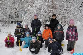 Зимние забавы и игры Воспитателям детских садов школьным  Фотоотчет Зимние игры и забавы в старшей группе