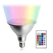 20 W <b>RGB</b> Light Bulbs <b>E27</b> Bulb Shape Code for sale   eBay