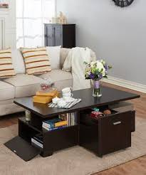 This Espresso Pull Out Coffee Table Is Perfect! #zulilyfinds