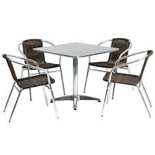 outdoor table and chairs aluminum cafe tables chairs outdoor outdoor table and chairs aluminum cafe tables