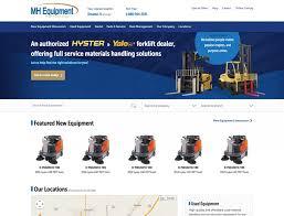 Hyster Websites Digital Marketing For Material Handling Dealers