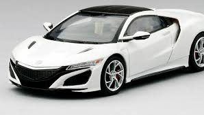 acura nsx 2015 white. 2017 acura nsx 130r white lhd by truescale miniatures nsx 2015