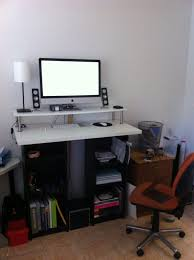 small office desk ikea stand office. Furniture:Ikea Office Desks Adjustable Desk Ikea Small L Shaped Skarsta Stand N