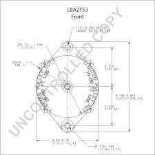 Lba2153 front dim drawing