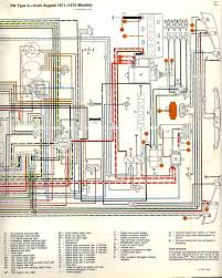 1972 vw wiring diagram thesamba com type 3 wiring diagrams 1972 lighting supplement