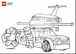 Small Picture unbelievable coloring pages of lego city police station with lego