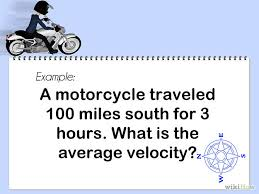 calculate velocity step 1