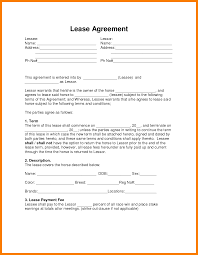 Rent To Own House Contracts 24 Rent To Own Contracts Templates Parkattendant 8