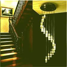 modern stairwell lighting light staircase chandelier modern pendant lights for long crystal stair spiral lighting light modern stairwell lighting