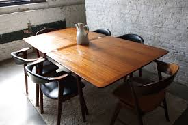 diy rustic wood dining table. diy unique rectangle wooden dining table extendable with black chairs long rustic wood
