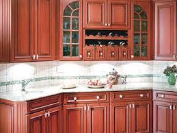 kitchen backsplash cherry cabinets. Perfect Cabinets Tile Backsplash With Cherry Cabinets To Kitchen