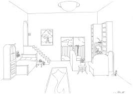 One Point Perspective Room By HazelAlmonds ...