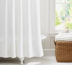 white shower curtains. Waffle Weave Shower Curtain White Shower Curtains