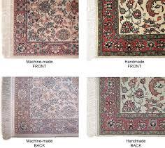 how to identify a genuine oriental rug