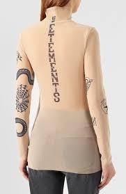 покупка недели топ Vetements с имитацией татуировок куполов и