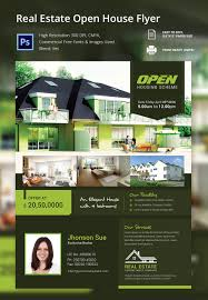 open house flyers template home flyer template open house and real estate beauteous flyers
